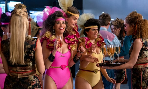 GLOW season three review – gleeful, outrageous and dialling up the