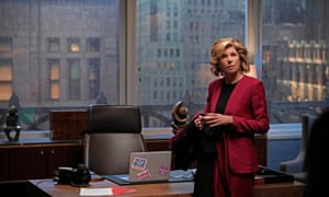 Super pissed-off ... Christine Baranski as Diane Lockhart in The Good Fight.