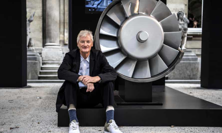 Company founder Sir James Dyson .