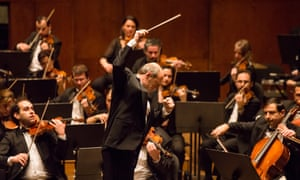 On their toes … Iván Fischer with the Budapest Festival Orchestra