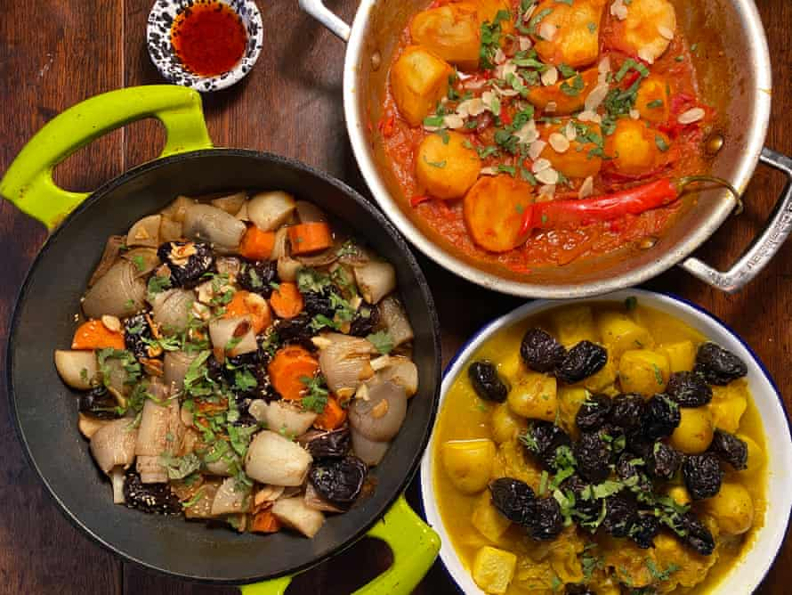 Tagine versions and from Sally Butcher, John Gregory-Smith Nargisse Benkabbou.