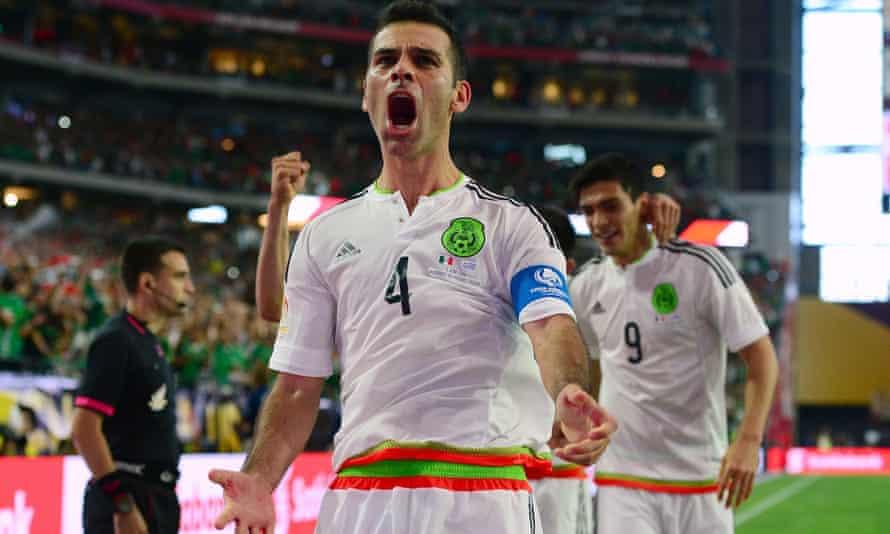 Rafael Marquez has shown veteran leadership for Mexico