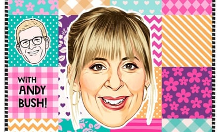 'Soothing, slow TV-esque adventures' ... Mel Giedroyc is Quilting.