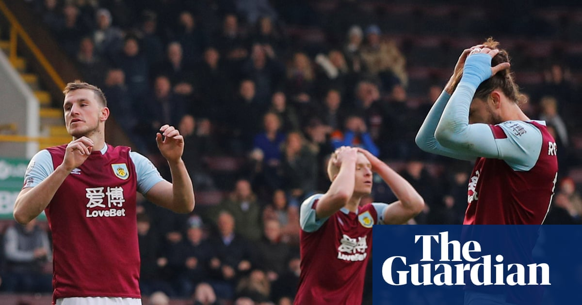 Burnley are facing a battle to survive in the Premier League