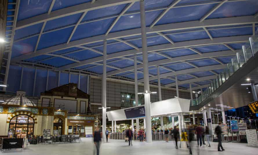 The new concourse at Manchester Victoria.