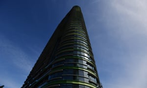 The Opal Tower at Olympic Park in Sydney developed a large crack on Christmas Eve. It is currently empty while emergency repairs are undertaken.