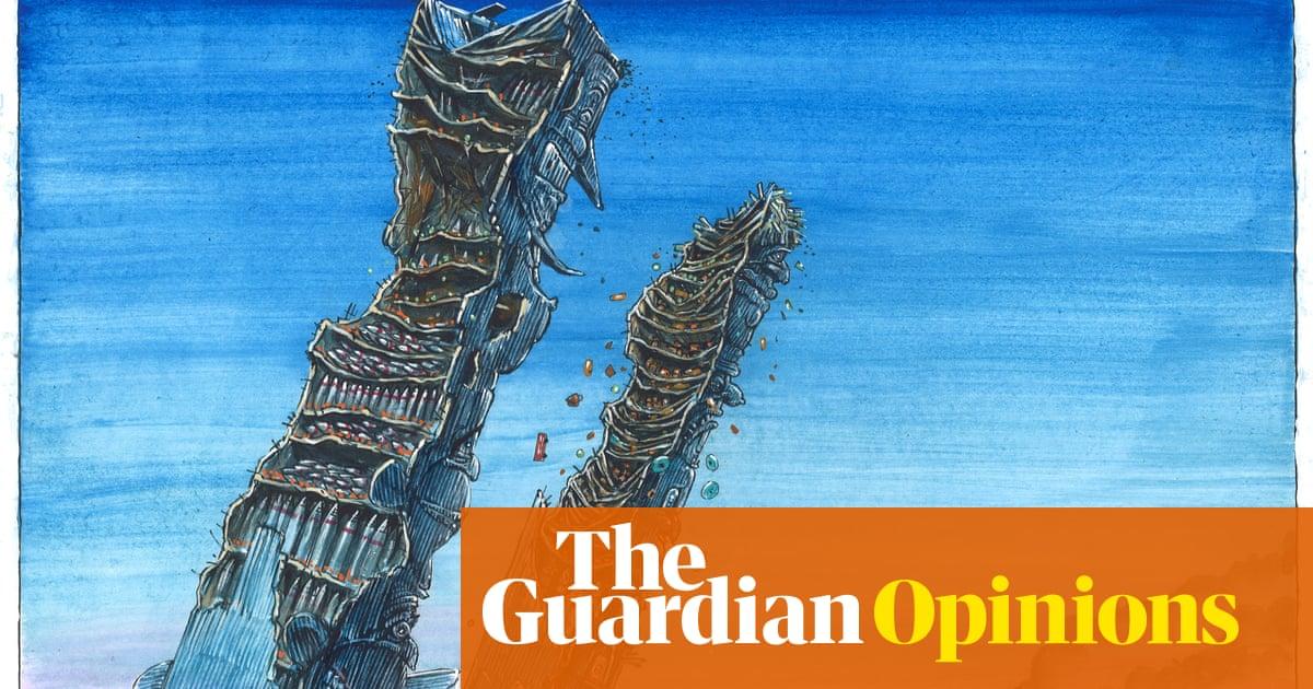 Martin Rowson on the end of the post-9/11 era – cartoon