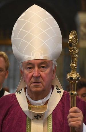 Cardinal Vincent Nichols, the archbishop of Westminster.
