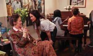 'Mom, you're being extra sassy right now': Pamela Adlon in Better Things with Celia Imrie as her mother.