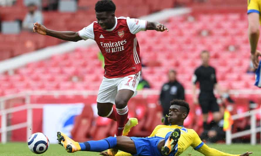 Bukayo Saka may feature prominently in the Amazon documentary given his England involvement at Euro 2020.
