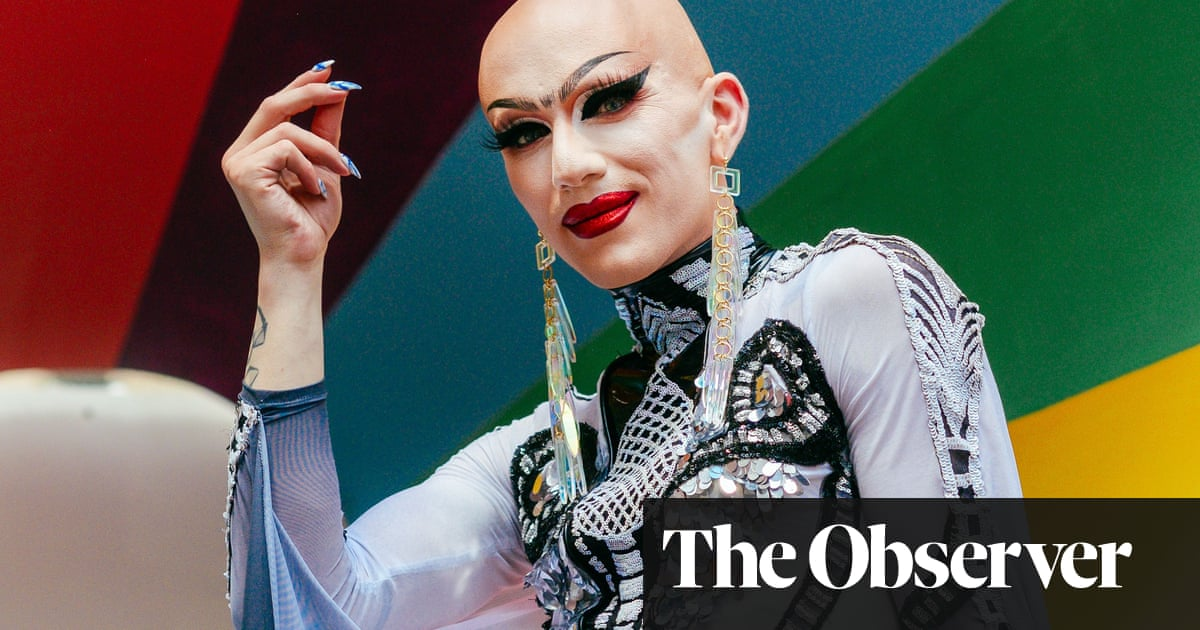 1d0c4643be Sasha Velour: 'Drag is darkness turned into power' | Television ...