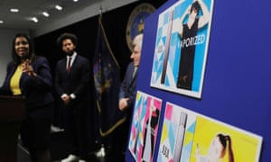 Attorney general Letitia James announces a lawsuit by the state of New York against e-cigarette maker Juul.