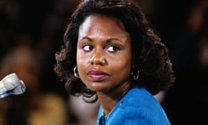 Anita Hill testifies before the United States Senate Judiciary Committee in 1991.