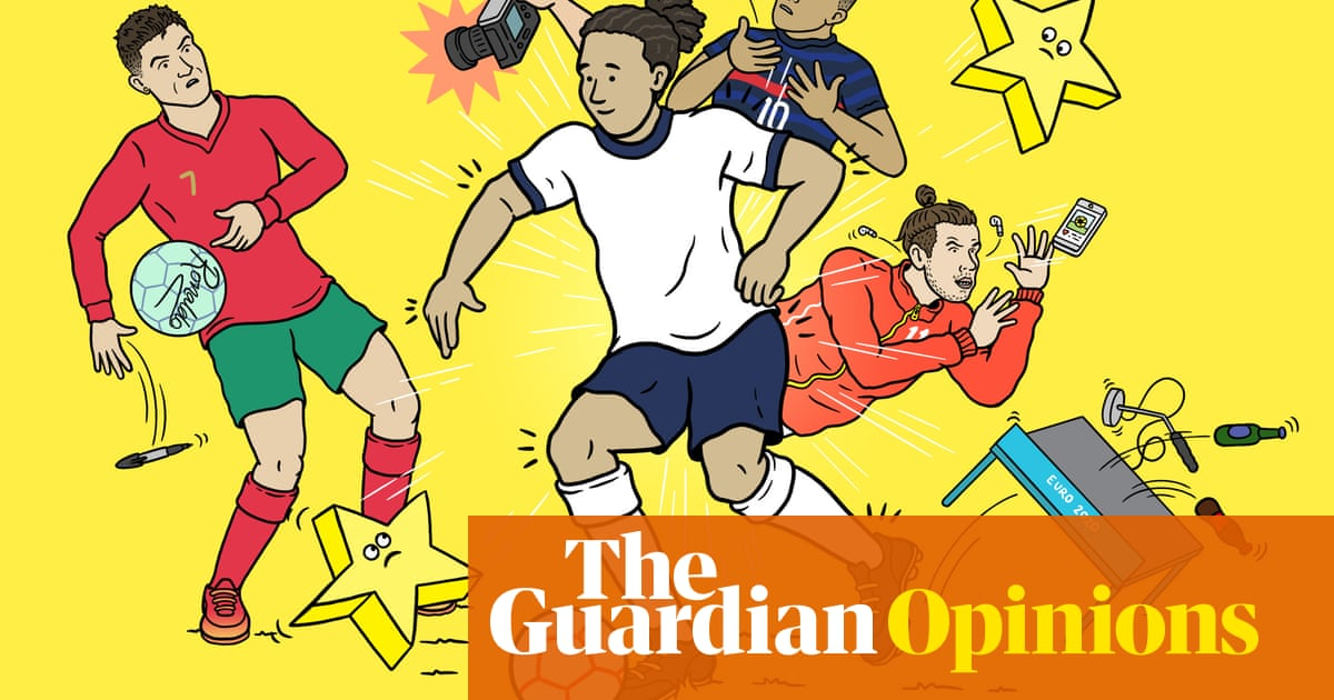 Stripped-back Euro 2020 signals football's shift away from cult of celebrity