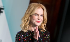 'Obviously we need to create more opportunities' … Nicole Kidman at the Women in Film ceremony.