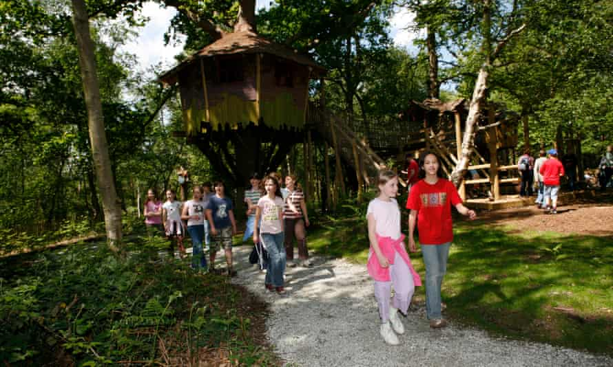Prices at BeWILDerwood are based on child height