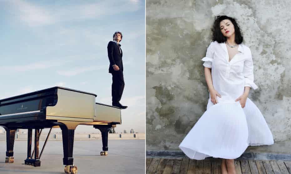 pianists David Greilsammer and Khatia Buniatishvili.