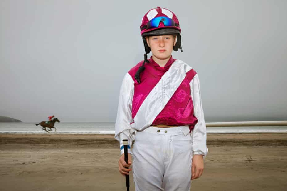 Young jockey Ava Sugrue, 14
