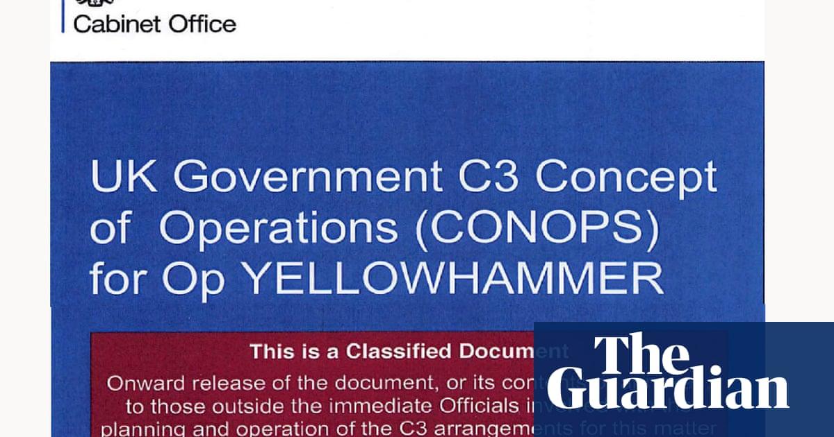 Secret Cabinet Office Document Reveals Chaotic Planning For No-deal Brexit