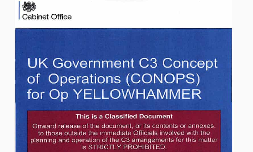 The Operation yellowhammer preview plan
