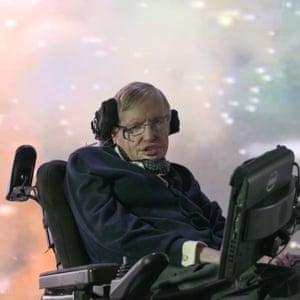 Physicist Stephen Hawking.