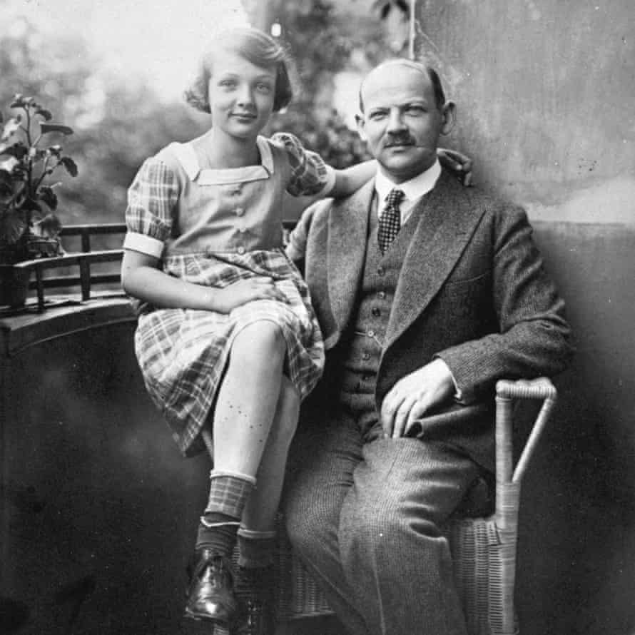 Capacity for happiness … Charlotte Salomon with her father Albert, around 1927.