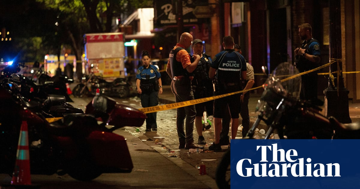 Gunman at large after Austin shooting leaves 13 injured, police in Texas say