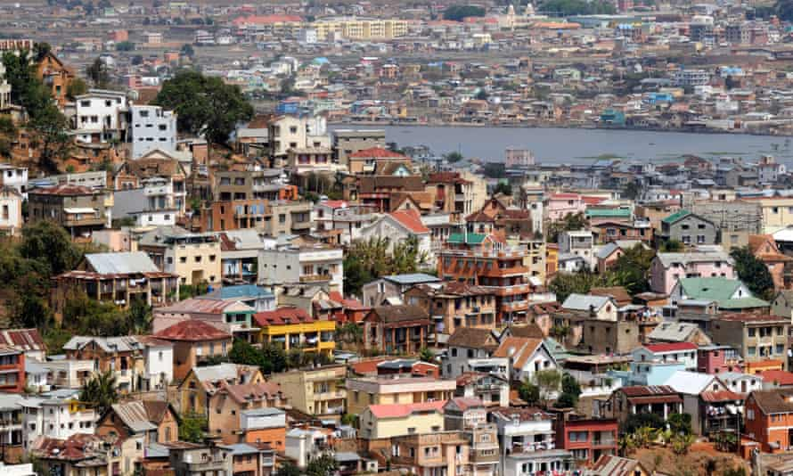 Madagascar's capital, Antananarivo.