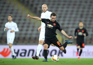 Lask 0 5 Manchester United Europa League Last 16 As It Happened Football The Guardian