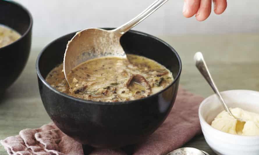 Mushroom hazel soup