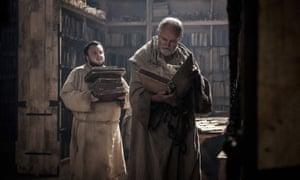 Jim Broadbent as Archmaester Ebrose, John Bradley-West as Samwell Tarly