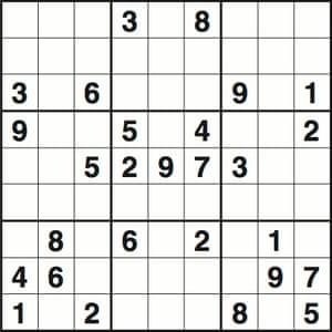 Sudoku 3507 hard