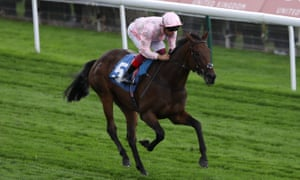 Lah Ti Dar, ridden by Frankie Dettor,i wins the British EBF & Sir Henry Cecil Galtres Stakes at York in August.