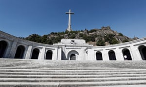 The Valley of the Fallen memorial near Madrid