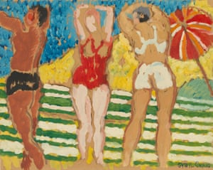 Untitled (The bathers) (1943) by Sybil Craig