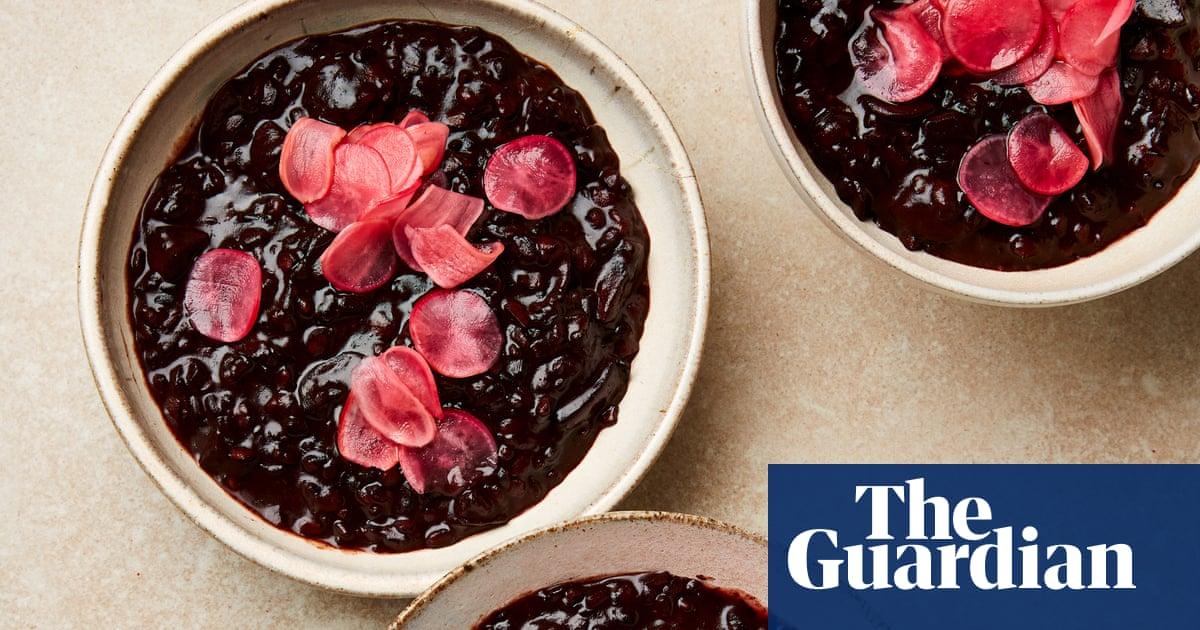 Meera Sodha's vegan recipe for black rice congee