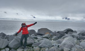 Belinda Fairbrother, the community conservation manager at Sydney's Taronga Zoo, in Antarctica as part of the first expedition of only women there with Homeward Bound Project
