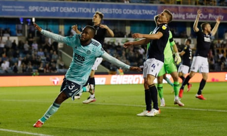 Leicester progress at Millwall's expense after Ademola Lookman punishes error