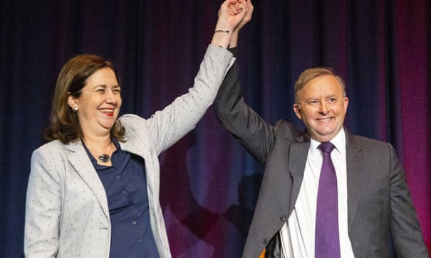 Anthony Albanese seeks to reopen wounds of Turnbull coup in fresh pitch to Queensland