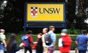 The University of New South Wales says changes to laws governing Australian and overseas research organisations' collaboration could hurt a lucrative trade.