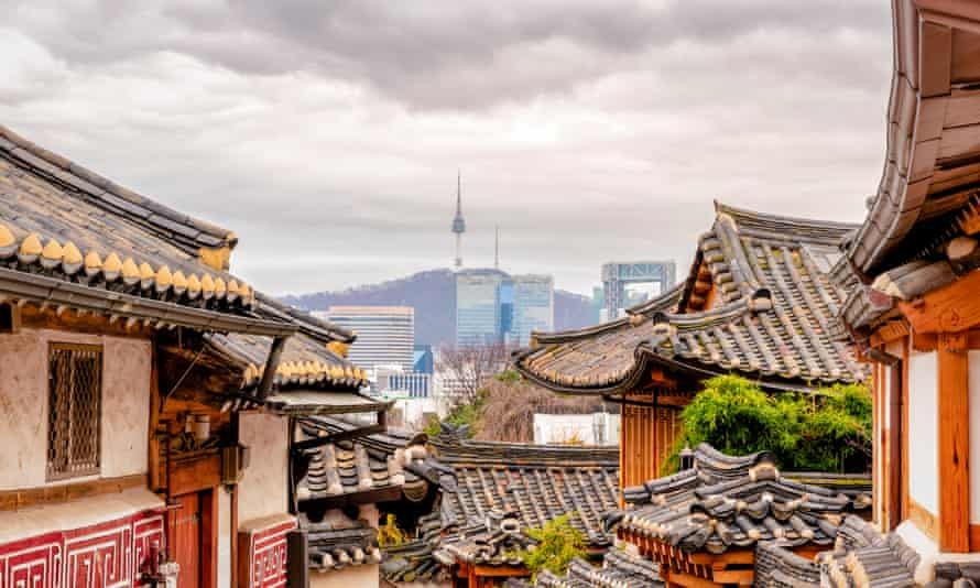 'The voices of the eight provinces each whimper ...' Seoul, in Gyeonggi Province, one of South Korea's eight provinces.