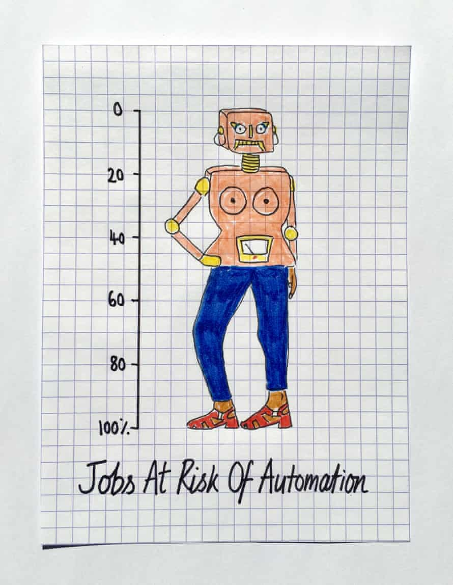 According to a 2013 report from Oxford academics, 47% of workers in America have jobs at high risk of potential automation.