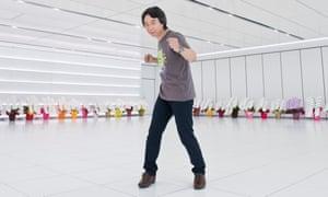 Shigeru Miyamoto, currently Creative Fellow, photographed at Nintendo headquarters in Kyoto, 2014.