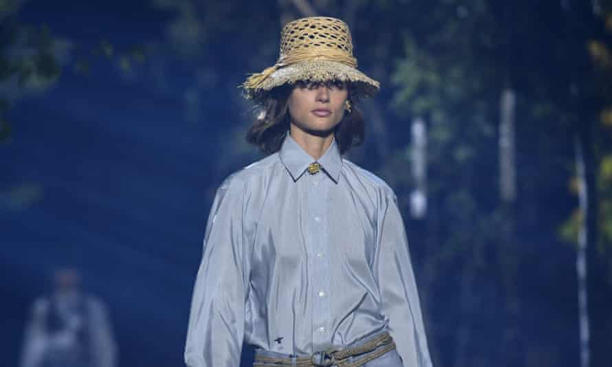 Christian Dior's sister Catherine, with her love of gardening, was an inspiration for the collection.