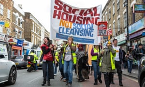As social housing residents, we have no voice, increasing commercialisation will marginalise us further.