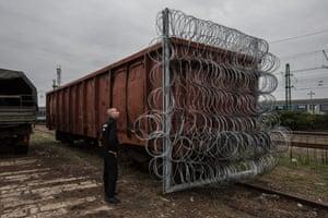 Simon Móricz-Sabján, Closed Borders, Hungary, 2015