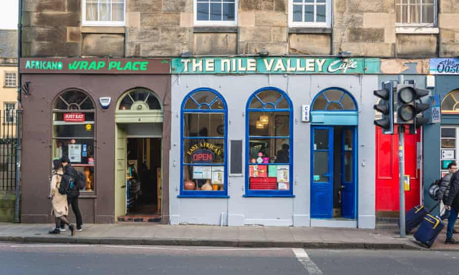 Nile Valley Cafe, Edinburrgh