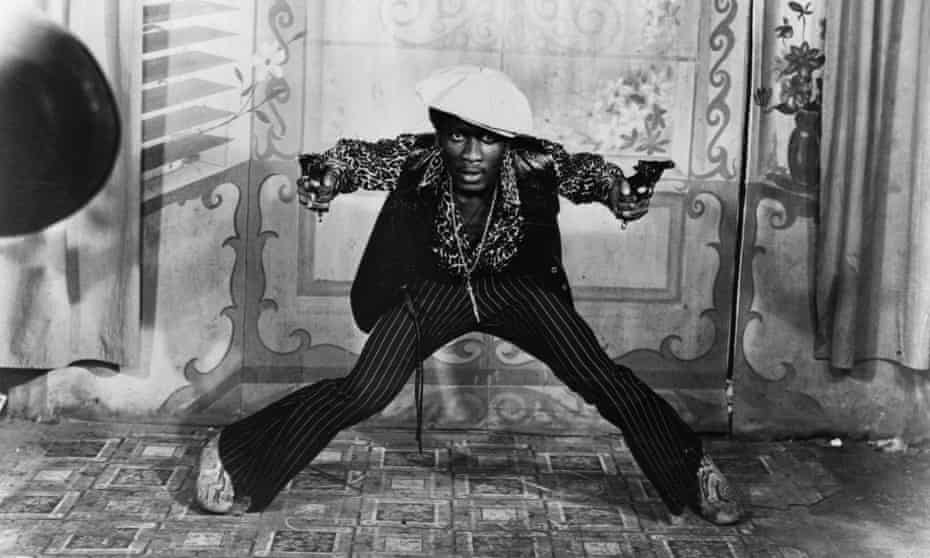 Jamaica's first film … Jimmy Cliff in Perry Henzell's The Harder They Come.