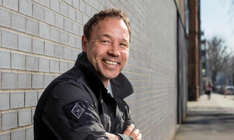 Stephen Graham: 'I feel like I'm on the crest of a wave at the moment.'
