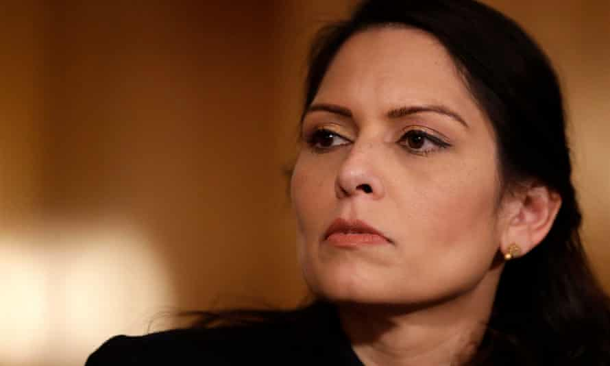 Patel, sensing danger, activated her default setting of mindless filler.